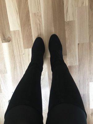 Botines de invierno negro