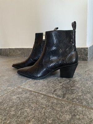 Zara Santiag noir