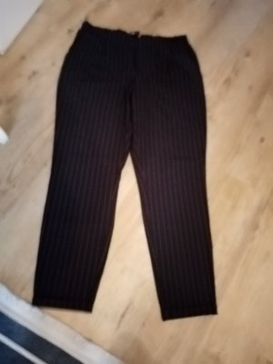 FB Sister Pantalon en jersey noir-rouge foncé