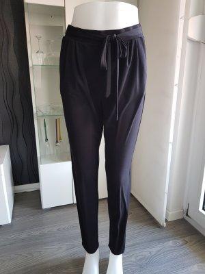 Damen Stoffhose Schwarz Größe 36 von Comma