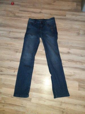 C&A Straight Leg Jeans dark blue