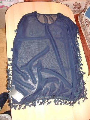 Tenue de plage bleu foncé polyester