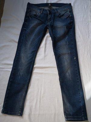 Damen Strecht-Jeans