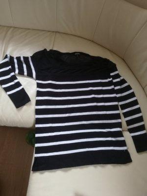 Damen Streifen Pullover Strick