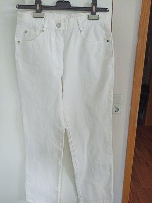 Jeans carotte blanc