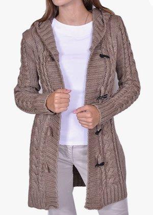 Mikos Wełniany sweter beżowy