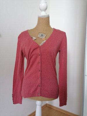 delicatelove Cardigan rose-gold-coloured-brick red