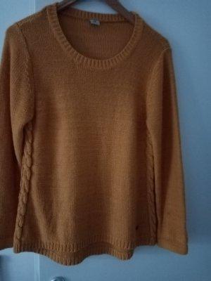 17&co Oversized Sweater ocher