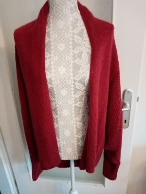 24Colours Knitted Cardigan carmine