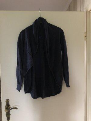 Cecil Veste tricotée en grosses mailles bleu foncé