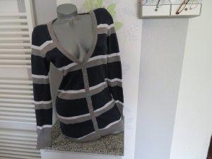 AJC Giacca in maglia multicolore Cotone