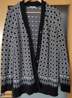 AJC Giacca in maglia nero Tessuto misto