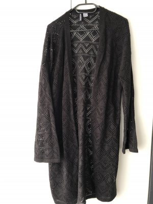 Damen Strickjacke schwarz H&M gr L