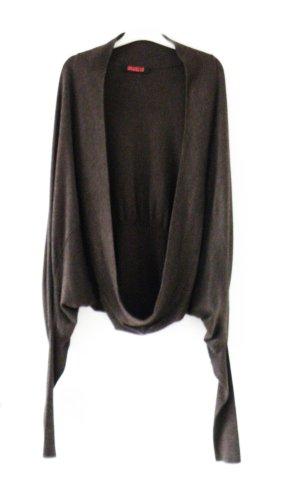 Fornarina Gilet tricoté brun noir-brun
