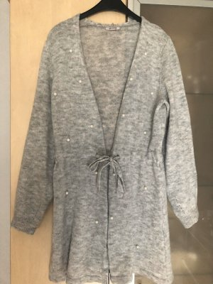 Orsay Smanicato lavorato a maglia grigio-grigio chiaro
