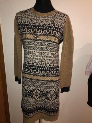 kew 159 Gebreide jurk veelkleurig