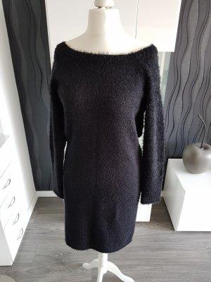 Damen Strickkleid Schwarz Größe 40 von JustFab