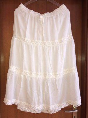 Broomstick Skirt multicolored viscose