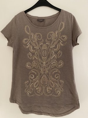 C&A Yessica T-Shirt light brown-gold-colored