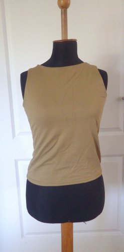 Damen T-Shirt Camel Hallhuber essentials Gr. 40 gebraucht Second Hand Top