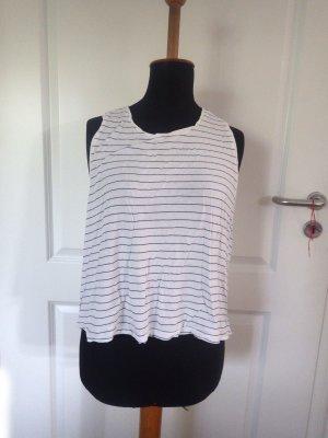 Damen T-Shirt geringelt Gr. XL gebraucht Second H&M Ringelshirt extraweit