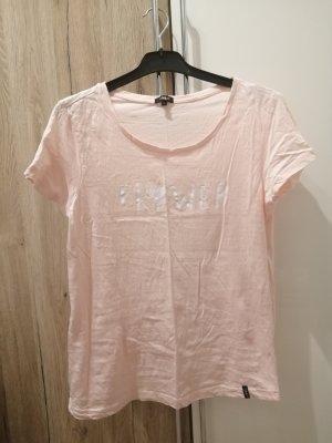Tara Camiseta color rosa dorado