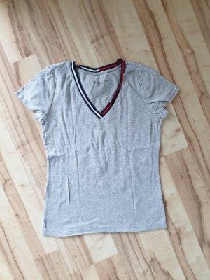 Damen T-Shirt, grau, Gr.M, Tommy Hilfiger (76-TT)