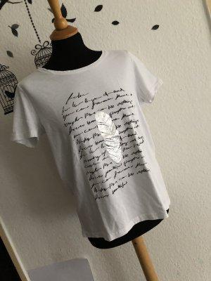 Damen T-Shirt mit Motiv in größe 40 der Marke Janina