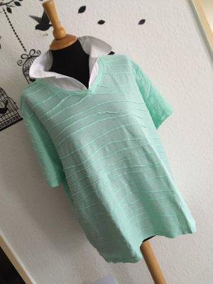 Damen T-Shirt mit Stehkragen in größe 48/50