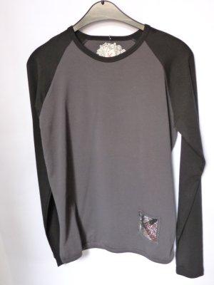 Cipo & Baxx Koszulka z długim rękawem czarny Bawełna