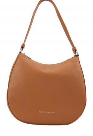 Armani Exchange Shoulder Bag cognac-coloured