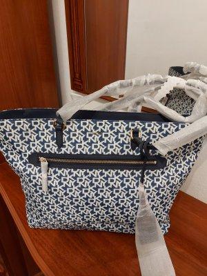 DKNY Sac bavarois blanc-bleu
