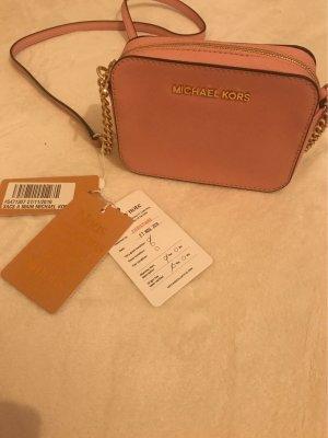 Michael Kors Borsa a spalla color oro rosa