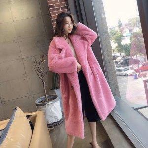Pelt Coat pink