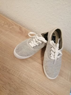 Tom Tailor Lace-Up Sneaker silver-colored