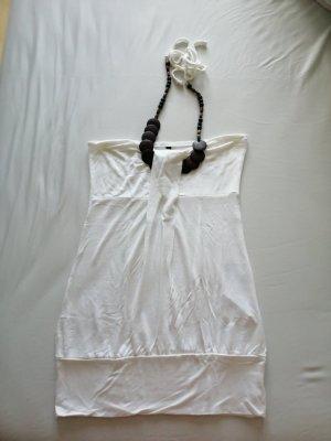 Amisu Top senza maniche bianco