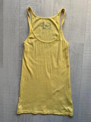 Mavi Top basic giallo