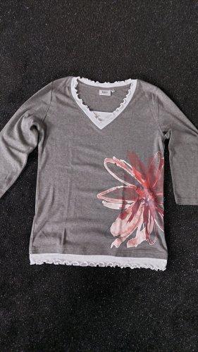 Bon Prix Koszulka typu batik jasnoszary