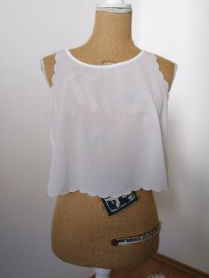 Only Backless Top white