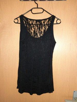 Laura Scott Top di merletto nero