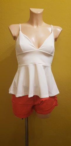 Damen-Top mit roter Short