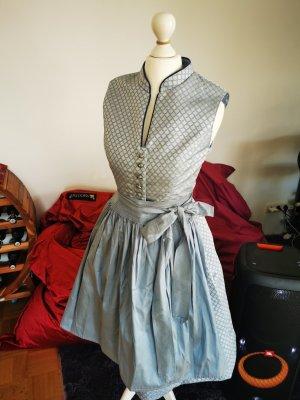 Damen trachten blaue steindl Dirndl Abendkleid