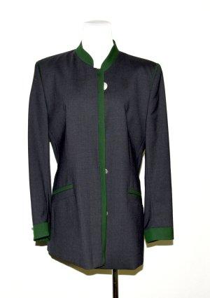 Tradycyjna kurtka antracyt Żywa wełna
