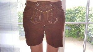 Spieth & Wensky Pantalon traditionnel en cuir multicolore