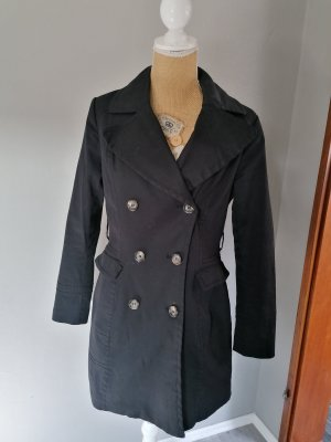 H&M Trenchcoat noir