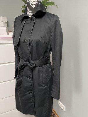 Damen Trenchcoat in Schwarz