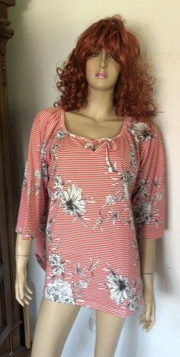Laura Torelli T-Shirt white-brick red