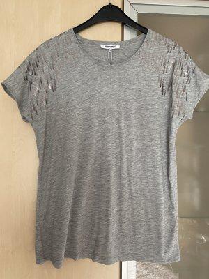 Damen Tshirt Shirt About you grau Gr 38 Neu mit Etikett