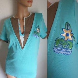 Boysen's T-shirt turkoois