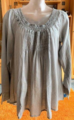 Sukienka tunika szary Bawełna